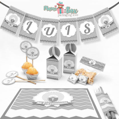 Communion grey Celebration Set